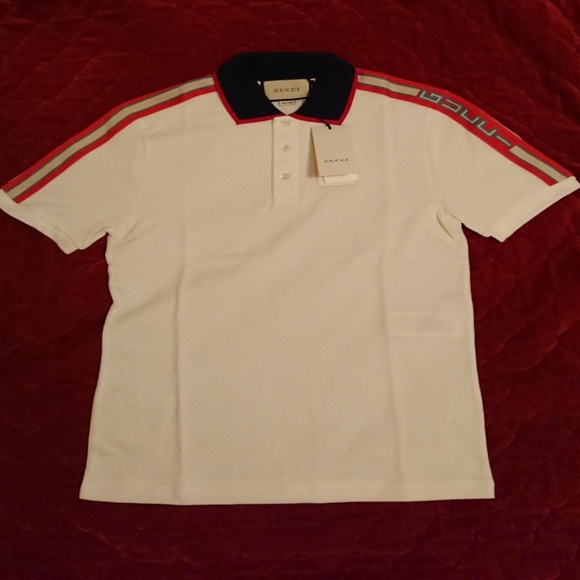 6cbe76db4 Gucci Shirts | 2018 Spring Collection Mens Size Large Polo | Poshmark